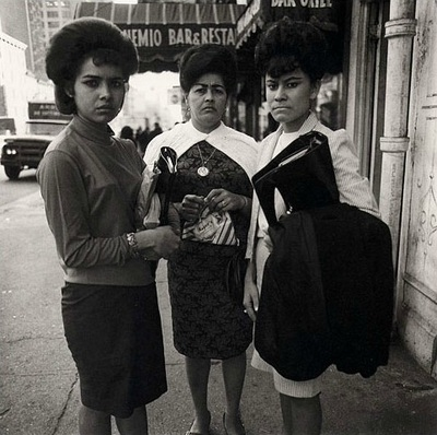 Mujeres de Nueva York. © Diane Arbus