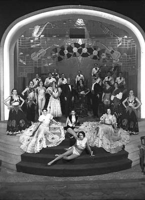 Cabaret La Buena Sombra, años 20-30, en la desaparecida calle Gínjol.