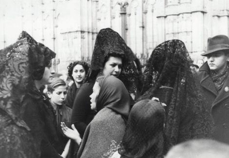 Barcelona. Semana Santa, 6 de abril de 1939. Fotógrafo desconocido.