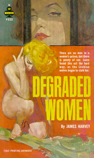 Degraded Women. Portada de Robert A. Maguire